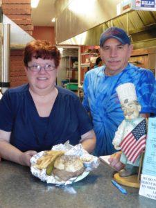 Donna and Brad Battaglia relocated from the Buffalo area, opening Taste of Buffalo in Huntersville.