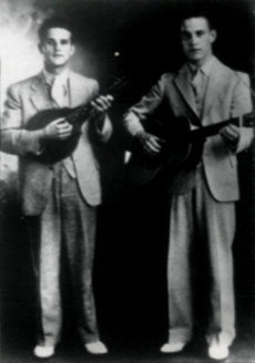 Bill and Earl Bolick, June 1936