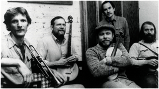 The Red Clay Ramblers: (L to R) Jack Herrick, Tommy Thompson, Clay Buckner, Mike Graver, Jim Watson