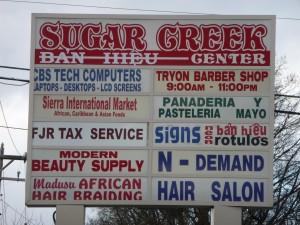 sugarcreeksign