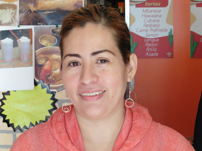 Laura Gonzalez Perez makes traditional tamales from northern and southern Mexico.