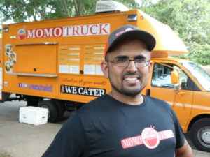 Jay Subedi's Momo Truck features dumplings, wraps and more from Bhutan and Nepal.