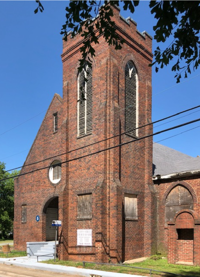 OLD MT. CARMEL BAPTIST CHURCH – 408 Campus Street