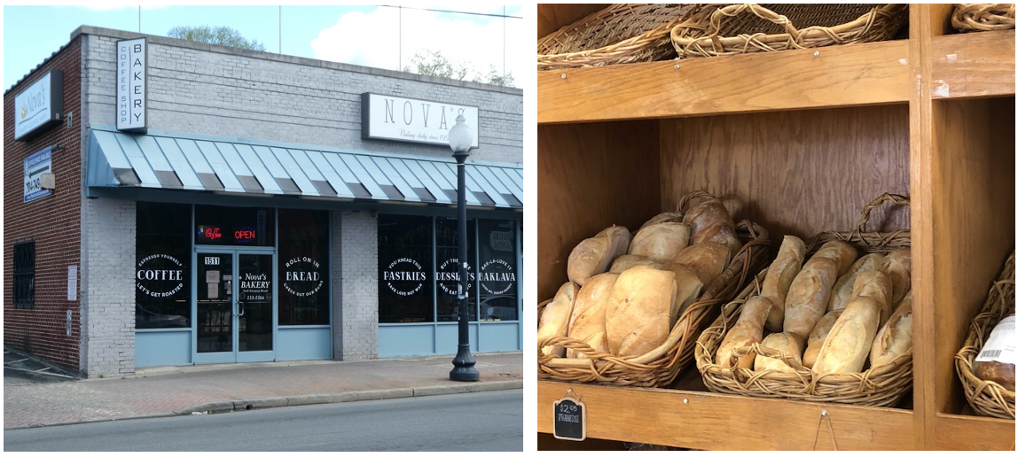 Vlado and Sladjana Novakovic arrived in Charlotte from Yugoslavia in the 1990s seeking top-notch medical care for an ailing son. In 1997 the couple opened this delightful bakery, beloved for crusty and flavorful European breads.