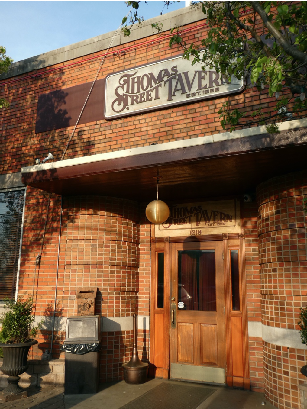 These two popular neighborhood hang-outs had previous lives. DISH was the Ho Toy, a culinary hot spot in the days when Charlotte's ethnic eateries consisted entirely of two Chinese restaurants. TOM TAVERN was Plaza Midwood's Post Office until the current one opened in the 1990s.